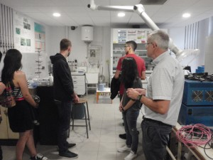 Laboratory tour