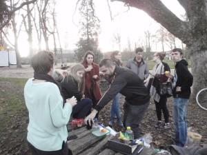 Piknikking in Pepinier