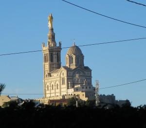 Marseille: Notre Dame de la Garde.
