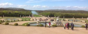 The Versailles yard.
