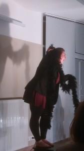 Then, an angel appears!