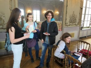 Other Erasmus found their way to free European buffet too.