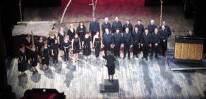 A choir practice.